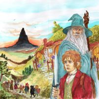 A Merry Hobbit-card by TashinaJacob