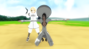 Nnoitra and Tesla MMD by 25animeguys