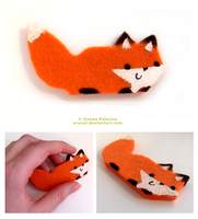 Felt Fox 07 by Erunei