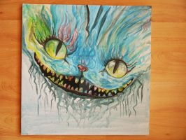 Cheshire Cat by Keiko-chan15