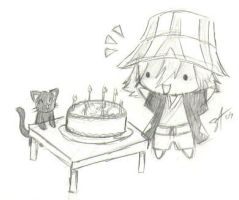Happy B-day Urahara by Chaosreign