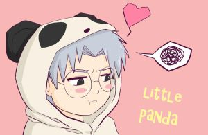 LITTLE PANDA by kitkatnis