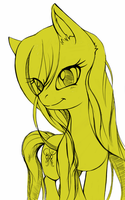 butterscotch doodle by Rosurin