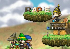 Rape On Maplestory by rockerXchic