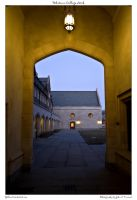Whitman College Arch by yellowcaseartist