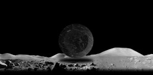 Marble On The Moon by mirerror