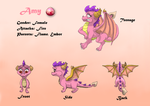Amy Ref Sheet by KI-Cortana