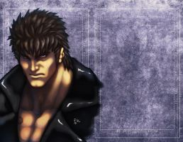 Kenshiro drawing and video by ErikVonLehmann