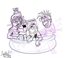 Scrap- Green Day Bath Time. by GreenDayComix