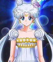 SAILOR MOON CRYSTAL - Princess Serenity Prototype by JackoWcastillo
