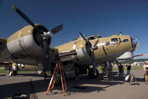 B-17 Flying Fortress by secoh2000