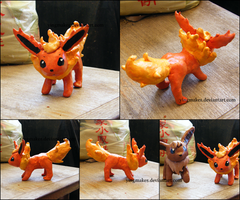 PKMN: Flareon by yingmakes