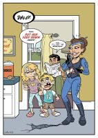 Our Super Mom Pin Up Page by BillWalko