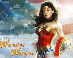 A new Wonder Woman by Jimmy-B-Deviant