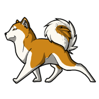 Akita Pup by Demon-Fire-Wolf