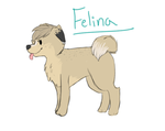 Felina Pup by bambifawnluv