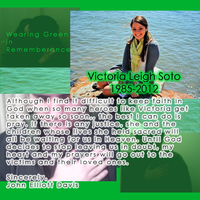 For Victoria Leigh Soto by LittleGreenGamer