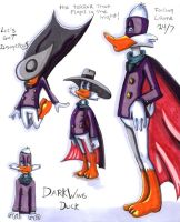 Darkwing, Darkwing Duck by lupienne