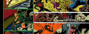 Blackest Night JSA 01 pages 10-11 - flats by Flashflat26