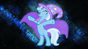The Great And Powerful Trixie 9BCFEF Wallpaper by Lktronikamui