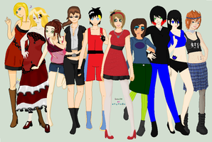 Gender Bending Across The Universe Collab by Lovepiko