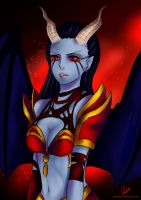 DoTA2- Queen Of Pain by Ambbey