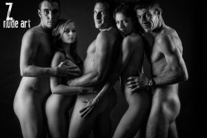 Nude Group 1 by ZephyrPictures
