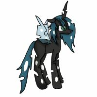 My Changeling OC by StormyTheLoner