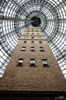 Melbourne - Shot Tower by acharnementgraphique