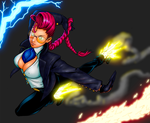 Coloration: Crimson Viper by anotherblazehedgehog