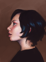 Portrait study by skybrush