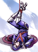 Tied up Talon by queenvera
