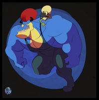The Incredible Beefy Kio! by ItsTalegas