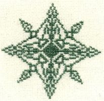 Embroidery: Snowflake 2 by Ronjaliek