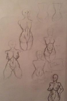 part four of experimenting with bodies by Chiusan