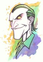 Joker sketch by KidNotorious