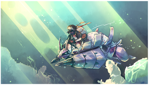 Pokemon water race - Golisopod 49