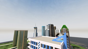 [Greasy Springs] Downtown UDP8 by DanqueDynasty