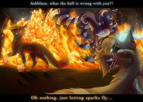 Sparks Fly by RiverSpirit456
