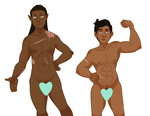Lam and Luke Body Type Ref 2017 by ParzifalsJudgment