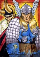 Thor and Loki PSC by Foreman by chris-foreman