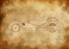 Steamcar one by Djahanshahi