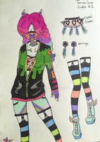 ::Pastel Goth Outfit 1:: by Shea-Hime