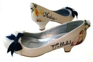 Custom Wedding shoes by miss-bunny-shoes