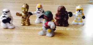 Star war mini collection by AquaAngel1010
