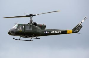 Bell UH-1K Huey Flyby by shelbs2