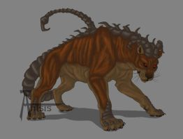 Copper manticore_Male by Anisis