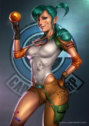 BULMA pinup by Aioras