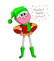 Adorable Fashion Disaster by SkeezQueen13