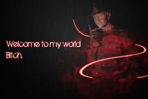 Freddy Krueger Background by AlexAngelPrince